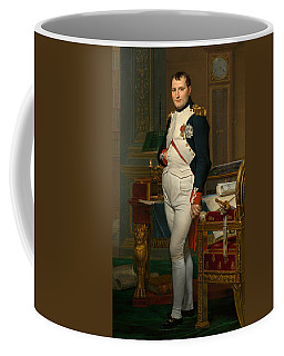 The Emperor Napoleon In His Study At The Tuileries Coffee Mug