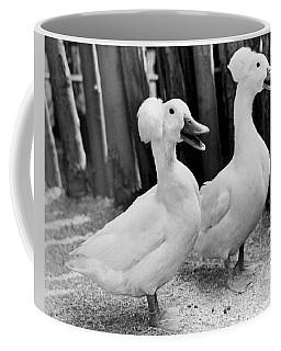 Powderpuff Ducks Coffee Mug