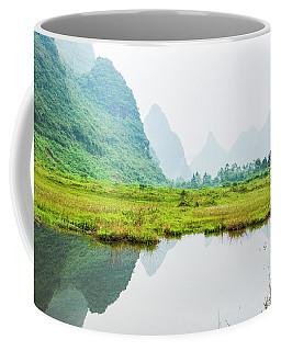 Karst Rural Scenery In Spring Coffee Mug