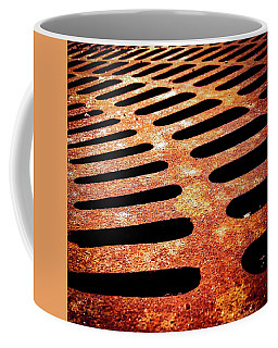 Iron Detail Coffee Mug