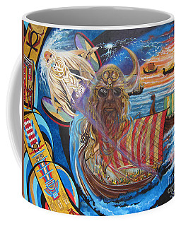 500 Empires Never Die - Odin Coffee Mug
