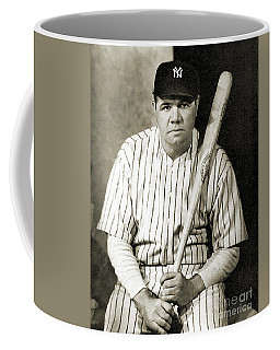 Coffee Mug featuring the photograph George H. Ruth (1895-1948) by Granger