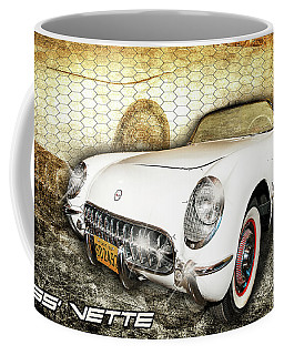 Coffee Mug featuring the photograph 55' Vette by Scott Cordell