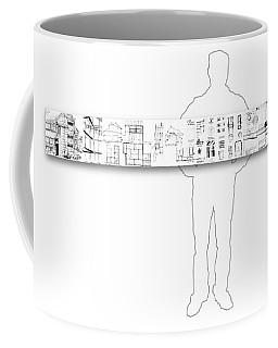 5.5.japan-2-horizontal-with-figure Coffee Mug