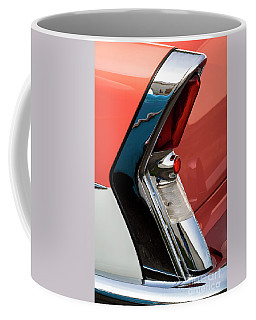 Coffee Mug featuring the photograph '56 Buick Taillight by Dennis Hedberg