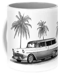 56 Chevy Wagon Coffee Mug