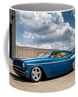 Coffee Mug featuring the digital art '57 Chevy Custom by Douglas Pittman