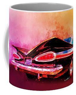 59 Chevy Ticket To Ride Watercolour Coffee Mug