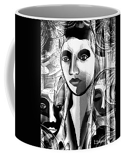 595 -  A Face A ... Coffee Mug