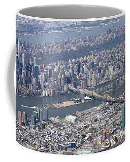 59th Street Bridge Coffee Mug by Suhas Tavkar