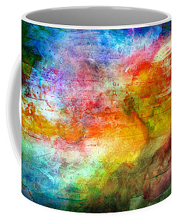 5a Abstract Expressionism Digital Painting Coffee Mug