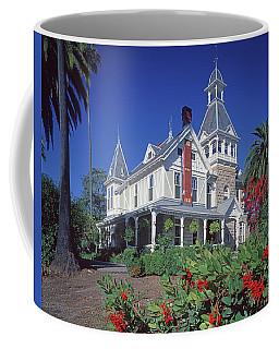 5b6386 Villa Miravalle Spring Mountain Vineyard Falcon Crest Coffee Mug