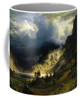 A Storm In The Rocky Mountains, Mt. Rosalie Coffee Mug