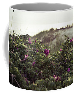 Rose Bush And Dunes Coffee Mug