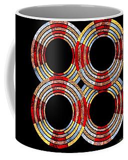 6 Concentric Rings X 4 Coffee Mug