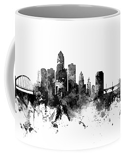 Des Moines Iowa Skyline Coffee Mug