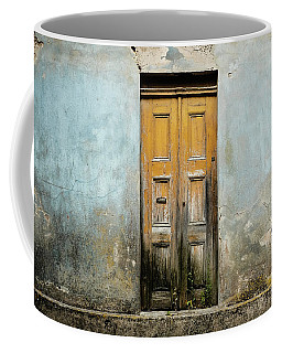 Coffee Mug featuring the photograph Door With No Number by Marco Oliveira