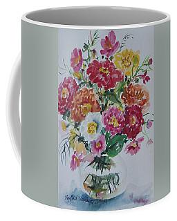 Floral Still Life Coffee Mug by Alexandra Maria Ethlyn Cheshire