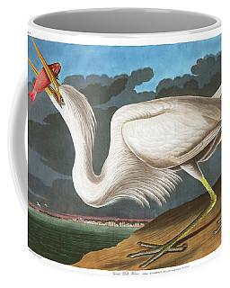 Great White Heron Coffee Mug