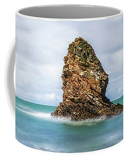 Coffee Mug featuring the photograph Gwenfaens Pillar by Ian Mitchell