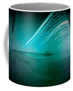 6 Month Exposure Of Eastbourne Pier Coffee Mug