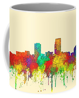 Omaha Nebraska Skyline Coffee Mug