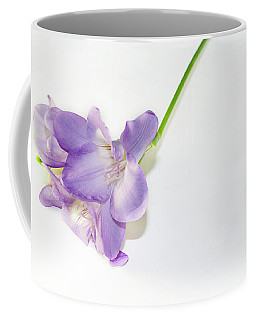 Purple Freesia Coffee Mug