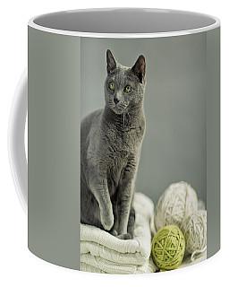 Russian Blue Coffee Mug