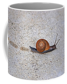 Coffee Mug featuring the photograph 6- Snail by Joseph Keane
