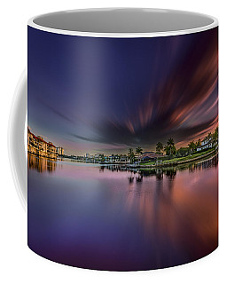 Sunrise At Naples, Florida Coffee Mug by Peter Lakomy