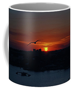 Coffee Mug featuring the photograph 6- Sunset by Joseph Keane