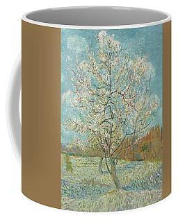 The Pink Peach Tree Coffee Mug