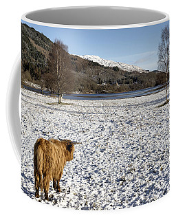 Trossachs Scenery In Scotland Coffee Mug