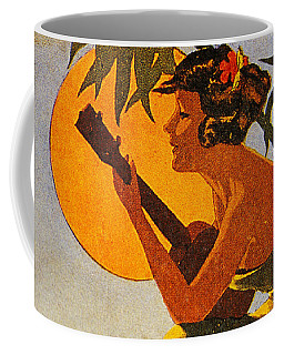 Vintage Hawaiian Art Coffee Mug
