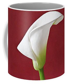 White Calla Coffee Mug