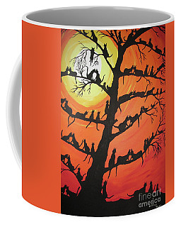 60 Cats In The Love Tree Coffee Mug