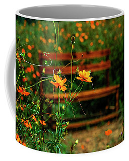 Galsang Flowers In Garden Coffee Mug