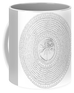 63-041209 Red Dragonfly Coffee Mug