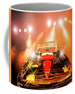 Coffee Mug featuring the photograph 64 Vette by Scott Cordell