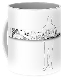 6.51.hungary-6-horizontal-with-figure Coffee Mug