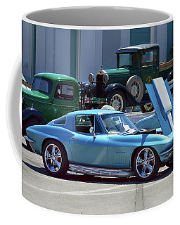 Coffee Mug featuring the photograph 67 Corvette Bb Coupe by Bill Dutting