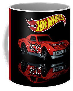 Coffee Mug featuring the photograph '69 Chevy Corvette-2 by James Sage