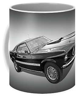 69 Mach1 In Black And White Coffee Mug
