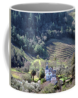 6b6312 Falcon Crest Winery Grounds Coffee Mug