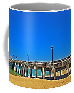 6x1 Venice Florida Beach Pier Coffee Mug