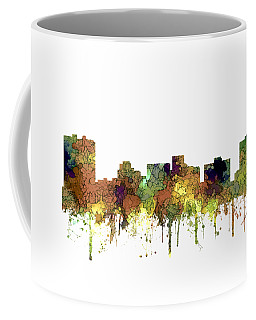 Arlington Texas Skyline Coffee Mug by Marlene Watson