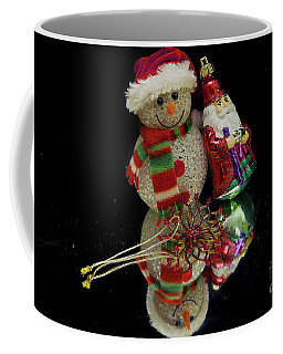 Coffee Mug featuring the photograph Christmas Decorations by Elvira Ladocki