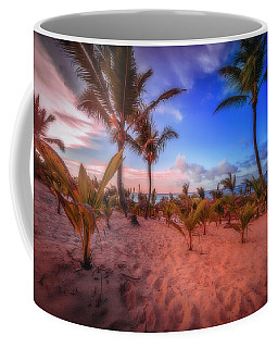 Coffee Mug featuring the photograph Dominicana Beach by Peter Lakomy
