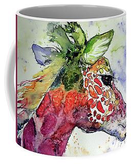 Giraffe  Coffee Mug by Kovacs Anna Brigitta