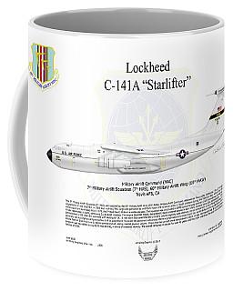 Lockheed C-141a Starlifter Coffee Mug